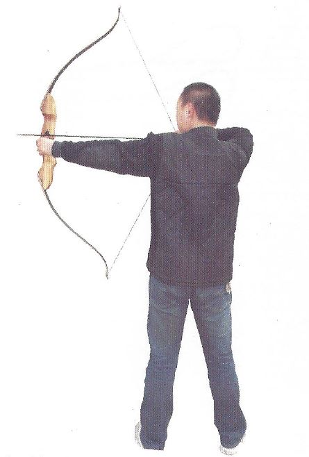Hunting Bow Jandao 60 inches right posture