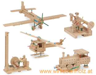 Matador Wooden Toys, Matador classic construction kit