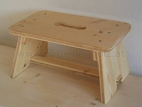 occasional furniture, stool, podium, spruce, small furniture, childrens stool