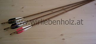 Bamboo Arrows 45-50 lbs
