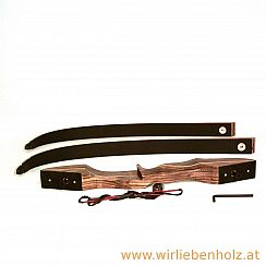 Hunting bow take down black
