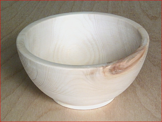 Wooden bowl various diameters