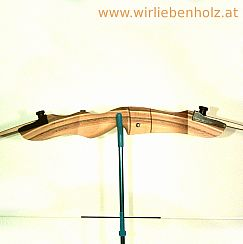 Bow for sports black 70 inches