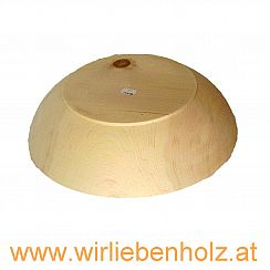 Wooden bowl various diameters 95 mm high